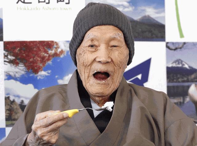 Japonês de 112 anos é reconhecido como homem mais velho do mundo