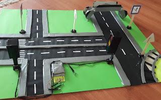 Trafik Güvenliği Trafik Maketi Materyali