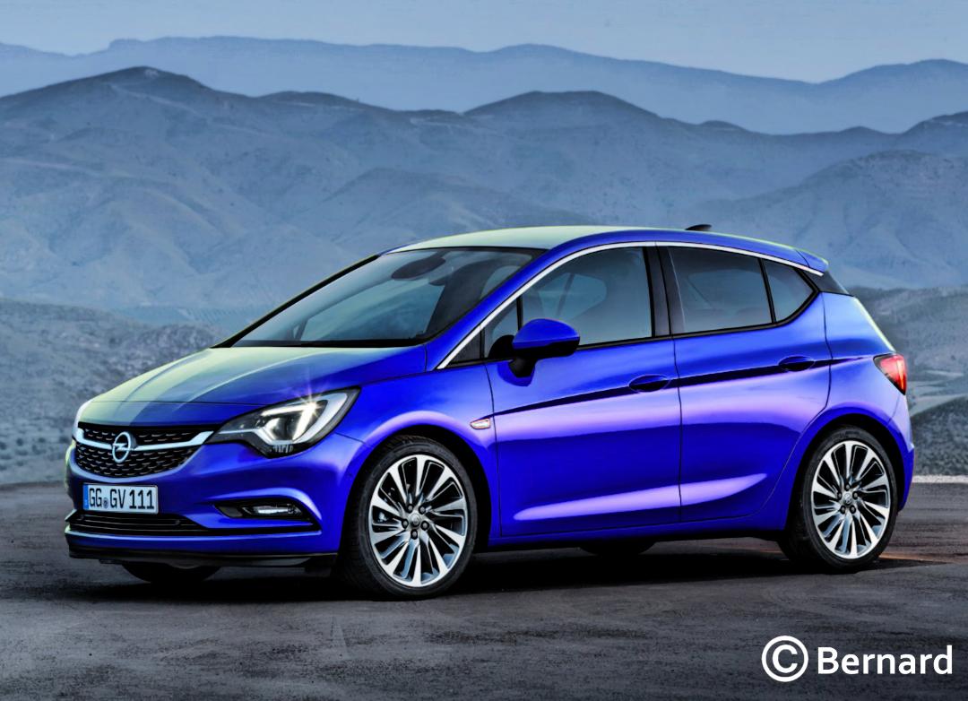 BERNARD CAR DESIGN: 2018 Opel Corsa F