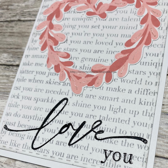 Love Is Stamp