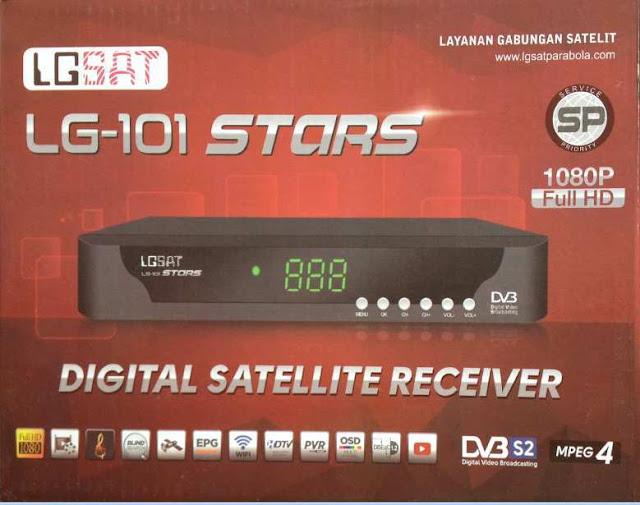 Sw Terbaru LGsat LG-101 Stars Garmedia