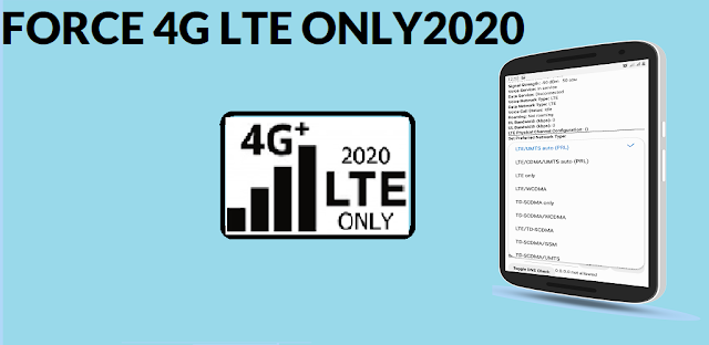 Instructions Force 4G LTE Only 2020 Free Version