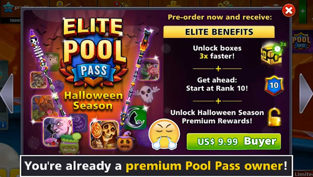 Halloween Season Elite Pool Pass