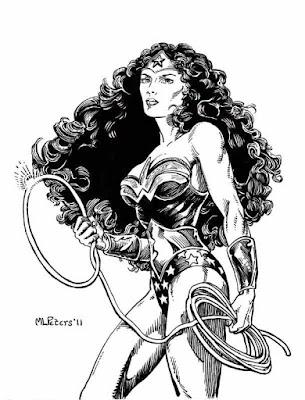 Wonder Woman by M.L. Peters