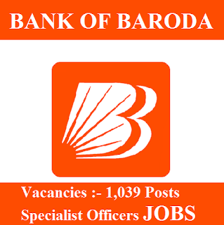 Bank Of Baroda, BOB, Bank, Specialist Officer, Graduation, freejobalert, Sarkari Naukri, Latest Jobs, Hot Jobs, bob logo