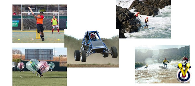 stag do ideas including rage buggies, surfing, coasteering and bubble football