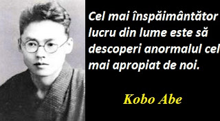 Citatul zilei: 7 martie - Kobo Abe