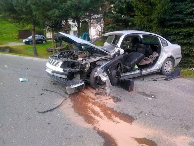Wypadek w Stępinie