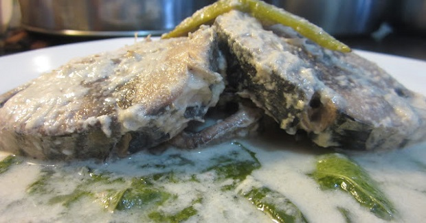 Ginataang Tambakol - Skipjack Tuna In Coconut Cream Recipe
