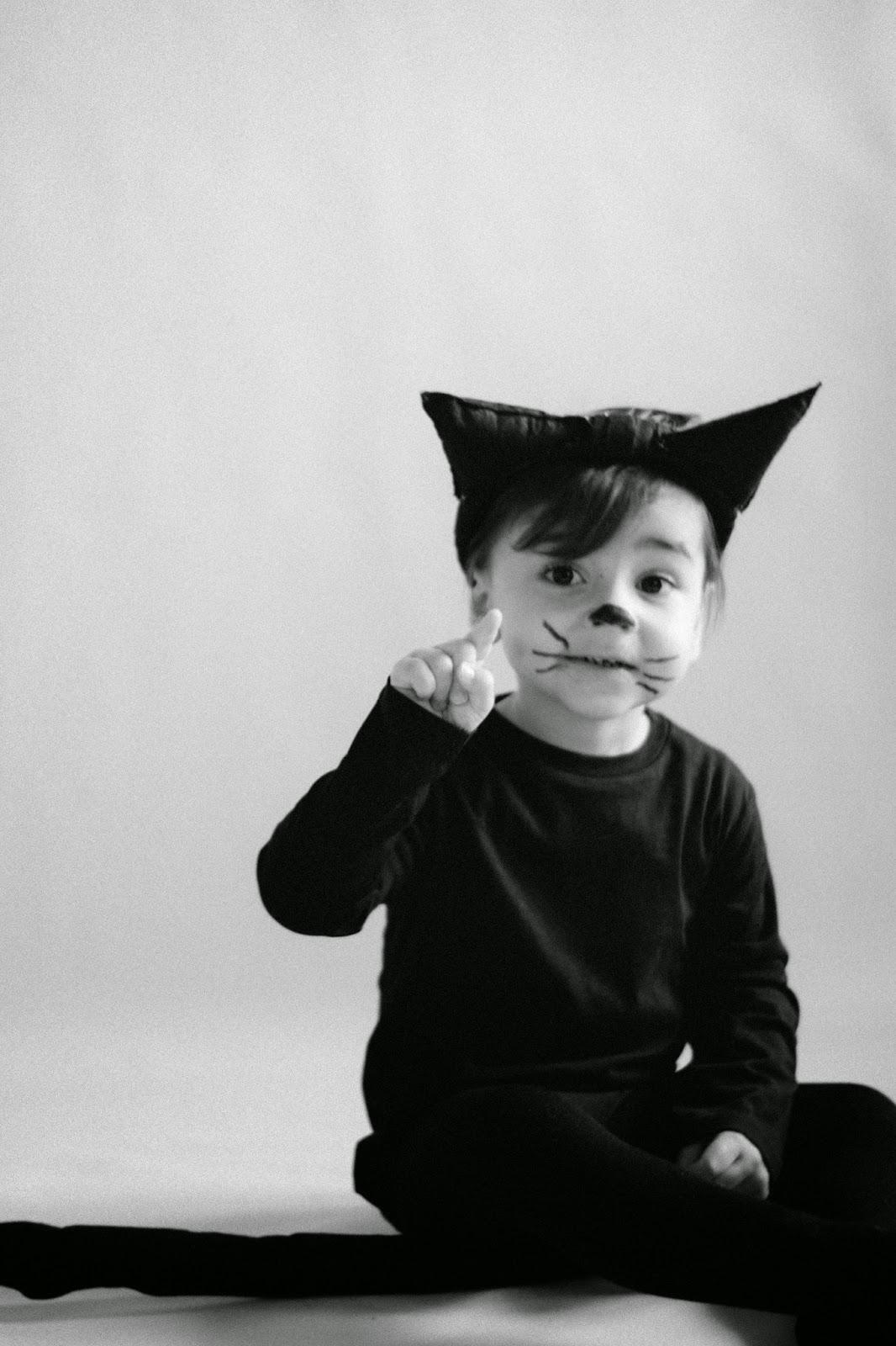 Disfraz de gato fácil