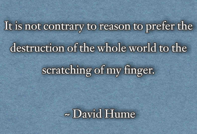 Quotes by David Hume