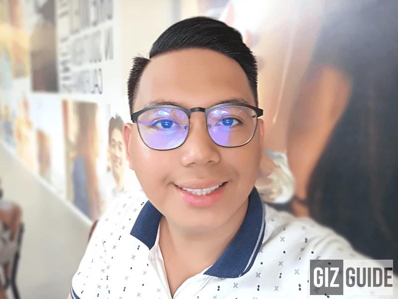 Portrait selfie