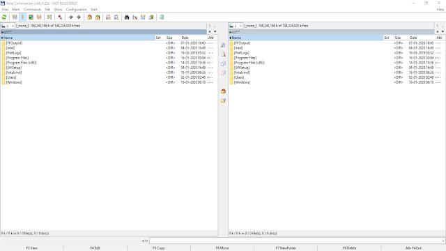 تنزيل برنامج الأرشفة وتنظيم وإدارة الملفات توتال كوماندر مجانا