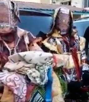 masquerades arrested agege lagos