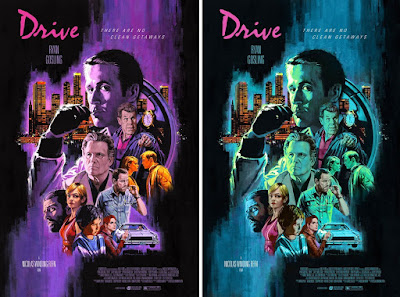 Drive Screen Print by Paul Mann x Mad Duck Posters