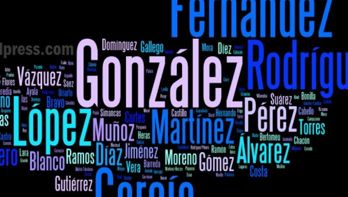 new styles 6fbbb ae090 ¿Cuál es el apellido más común en México
