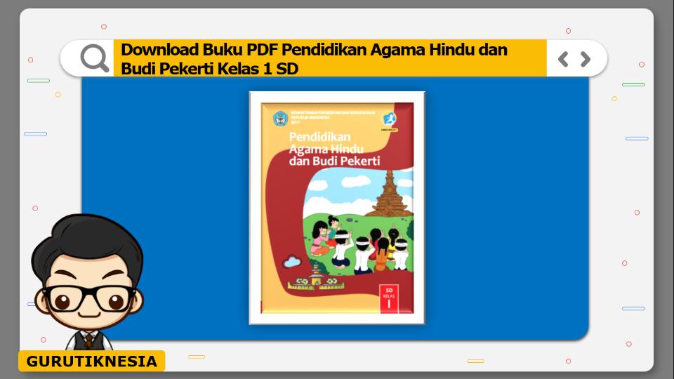 download buku pdf pendidikan agama hindu dan budi pekerti kelas 1 sd