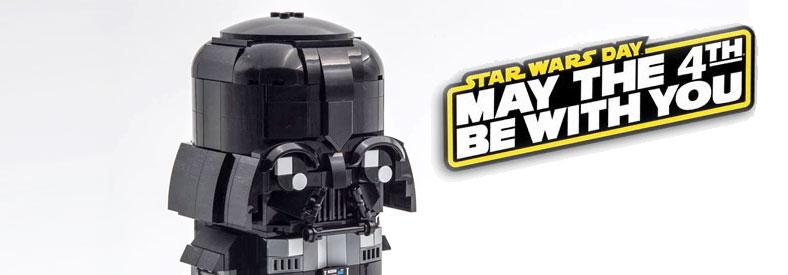 LEGO Starwars Brickheadz Darth Vader Custom