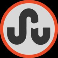 stumbleupon button outline