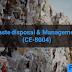 Waste Disposal & Management (CE-8004)