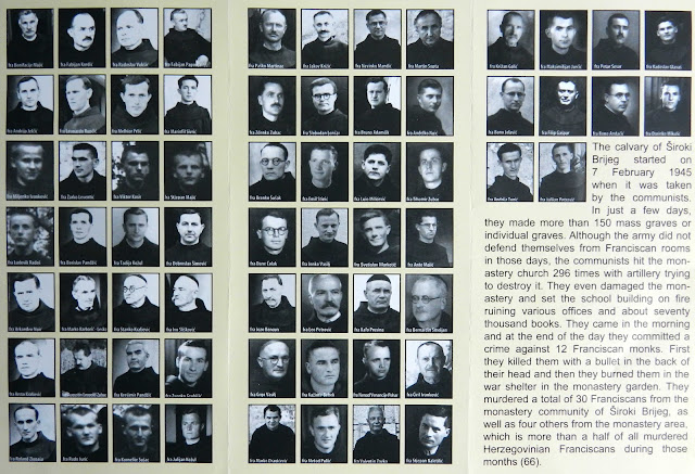 The sixty-six Franciscan friars executed in Herzegovina during and shortly after WWII