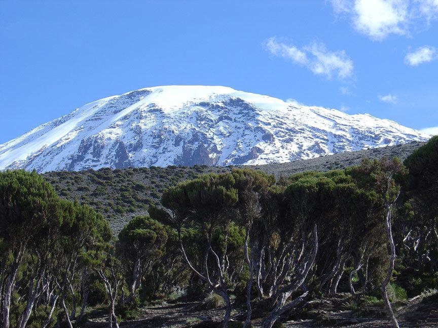 Восхождение на Килиманджаро, Экватор - Северный полюс
