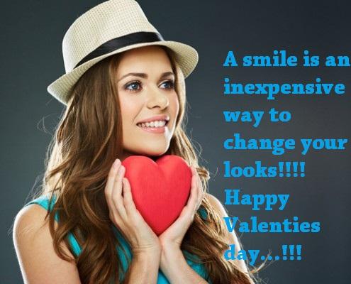 Valentines Day Smile Whatsapp Status