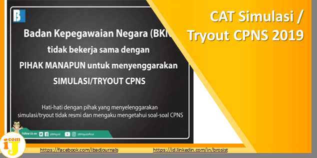CAT Simulasi / Tryout CPNS 2019