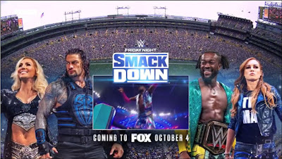 WWE Smackdown Is Coming To FOX Promo