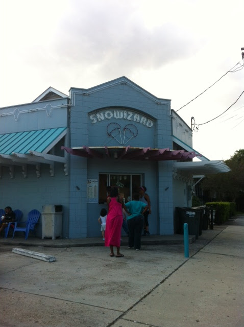 Snowizard Snoball Shoppe Uptown New Orleans Usa The
