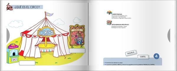 """Proyecto de Educación Infantil de 4 años """"El Circo"""" (Colección """"Quiero aprender"""" de Editorial Bruño)"""