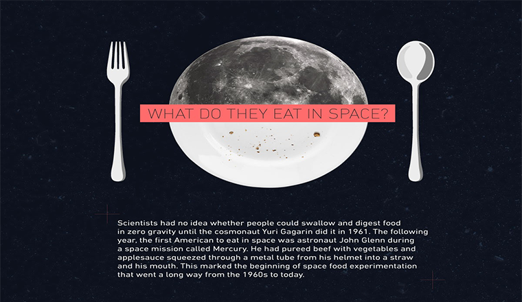 Evolution of Food in Space: From Bland Puree to Almost Like on Earth #Infographic