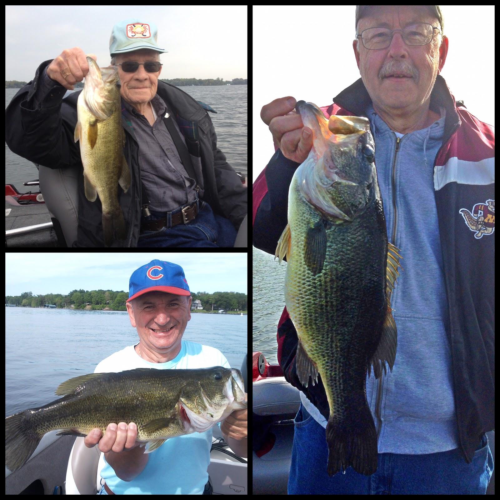 Take the bait guide service llc on lake minnetonka for Lake minnetonka fishing report