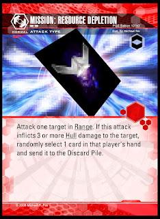 Attack type: Mission Resource Depletion