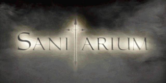 Santitarium pc title logo