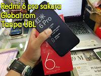 Cara Flashing / Instal Rom Global Xiaomi Redmi 6 Pro Sakura Tanpa Unlock Bootloader UBL 2019 (Stuck Recovery)