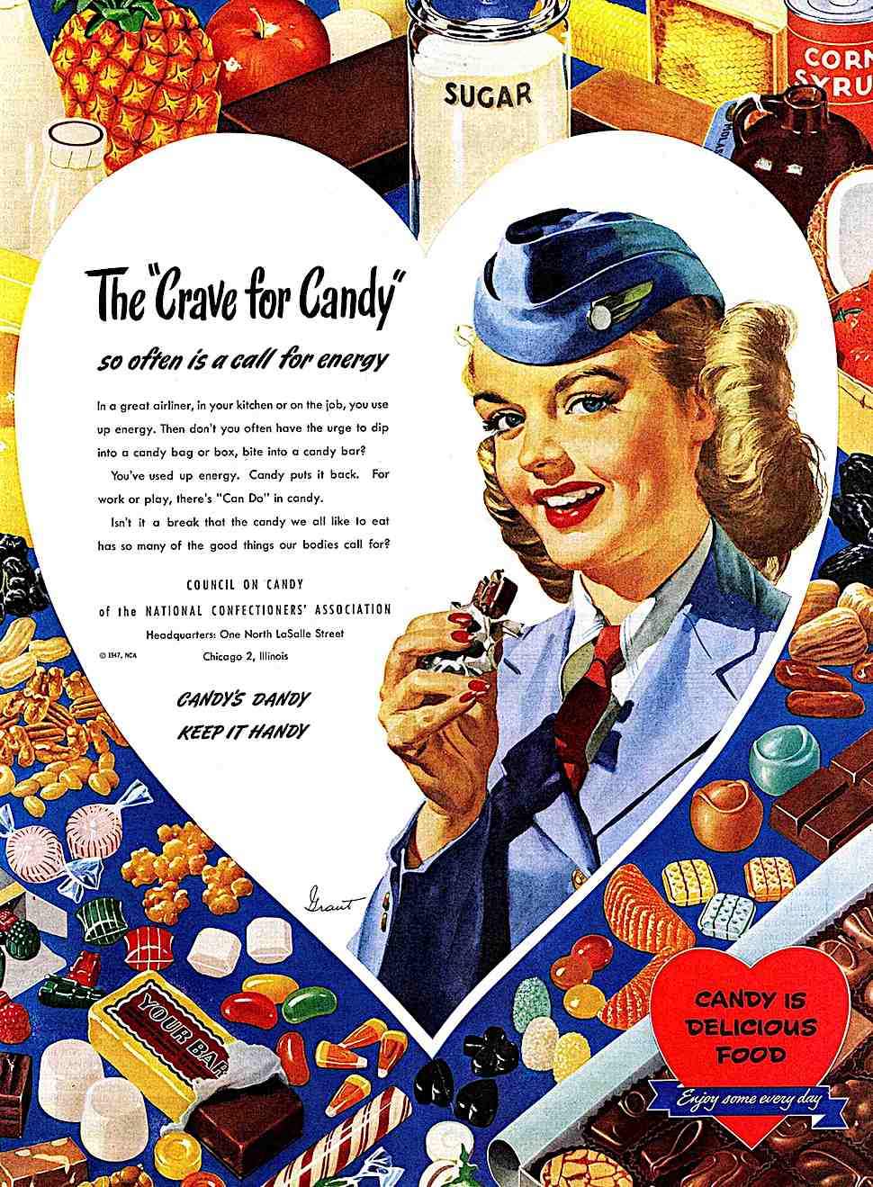 Candy's Dandy Keep It Handy 1947, Council On Candy of the National Confectioner's Association