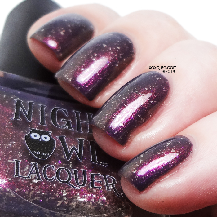 xoxoJen's swatch of Night Owl Lacquer Holding On & Letting Go