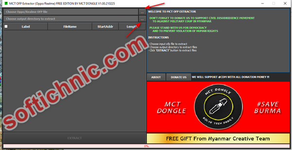 How to MCT Extract OFP File Using Free Tool   All Oppo & Realme ofp file extract free tool download