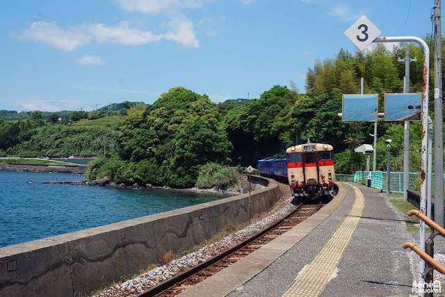 千綿駅、東彼杵町、長崎県