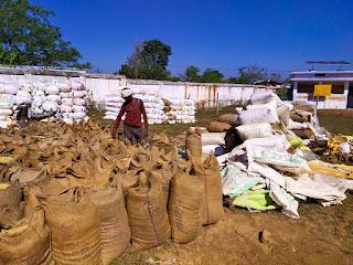 175 केन्द्रों पर 4738 किसानों से खरीदी गई एक लाख 20 हजार 637 क्विंटल धान