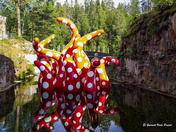 Kistefos Museum, Shine of Life - Noruega, por El Guisante Verde Project