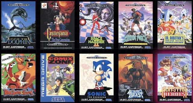 الإعلان عن عناوين الألعاب القادمة في جهاز Sega Megadrive Mini و تأكيد تواجد يد تحكم جديدة