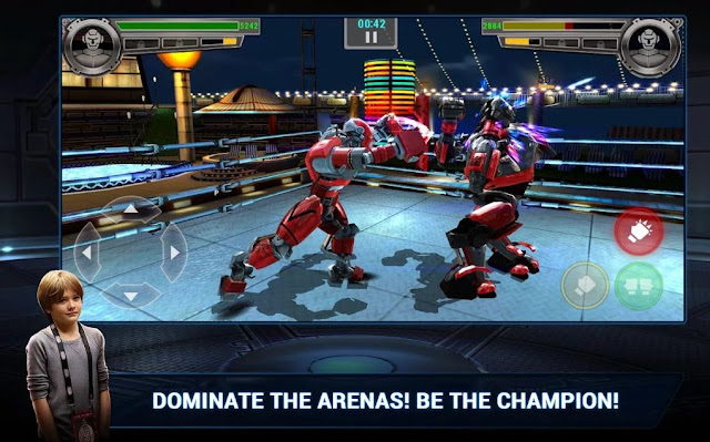 Real Steel Boxing Champions Mod Apk Data Unlimited Money Untuk Android