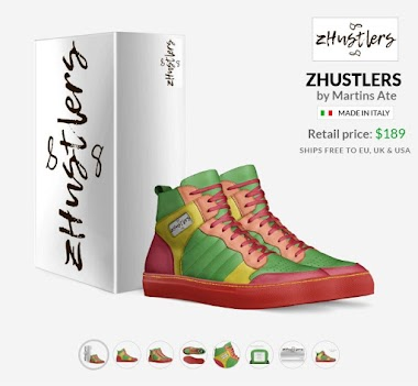 High Quality Hand Crafted in Italy z Hustlers Reggae Shoes - for real Hustlers & Reggae Lovers