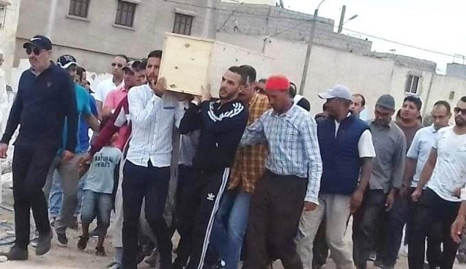 وفاة مواطن مغربي كان قيد الإحتجاز لدى أمن مدينة الجديدة تثير غضب المغاربة.