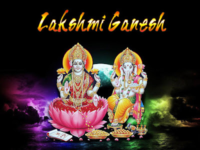 Happy Diwali 2015 HD Lakshmi Ganesha Wallpapers