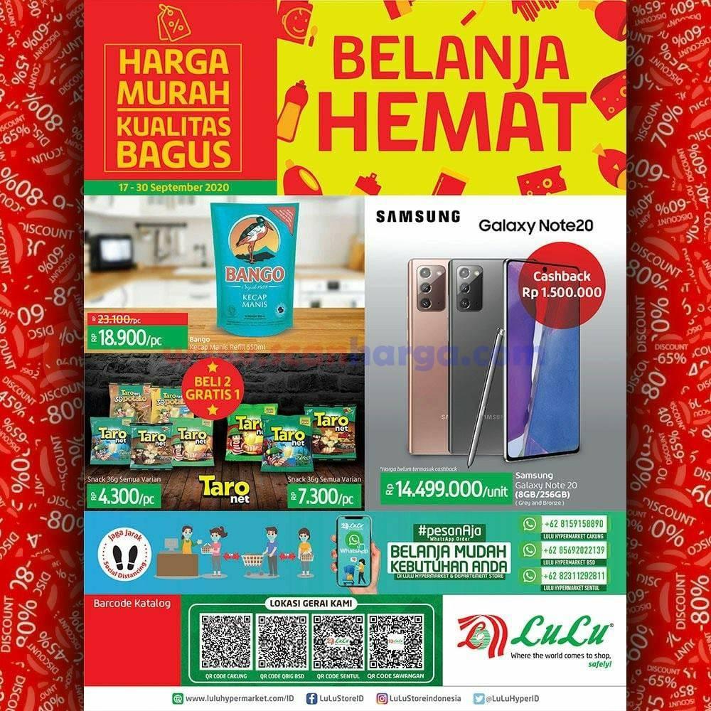 Katalog Promo LULU Supermarket 17 - 30 September 2020 1