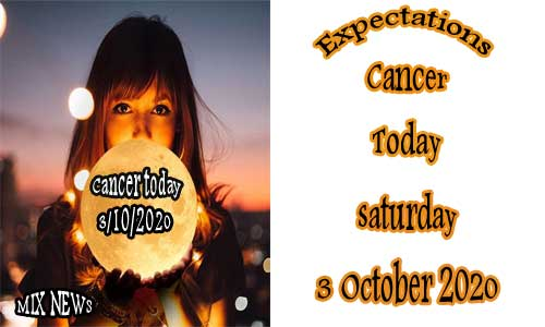 Predictions for Cancer Today 3/10/2020 Sat Oct 3rd 2020, Cancer