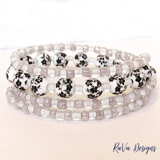 rava designs glass bead pattern bracelet ideas crafting craft projects
